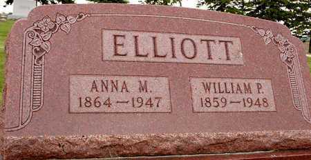 ELLIOTT, WILLIAM P. & ANNA - Woodbury County, Iowa | WILLIAM P. & ANNA ELLIOTT