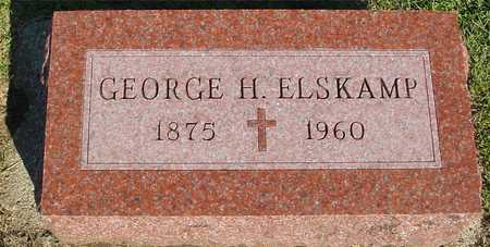 ELSKAMP, GEORGE H. - Woodbury County, Iowa | GEORGE H. ELSKAMP