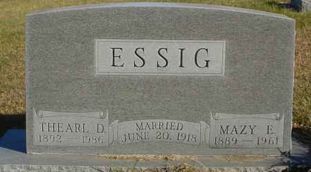 ESSIG, THEARL & MAZY - Woodbury County, Iowa | THEARL & MAZY ESSIG