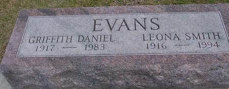 EVANS, DANIEL & LEONA - Woodbury County, Iowa | DANIEL & LEONA EVANS