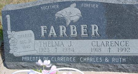 FARBER, CLARENCE & THELMA - Woodbury County, Iowa | CLARENCE & THELMA FARBER
