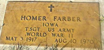 FARBER, HOMER - Woodbury County, Iowa | HOMER FARBER