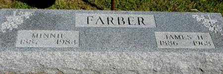 FARBER, JAMES H. & MINNIE - Woodbury County, Iowa | JAMES H. & MINNIE FARBER