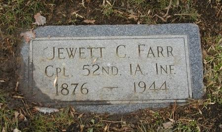 FARR, JEWETT C - Woodbury County, Iowa | JEWETT C FARR