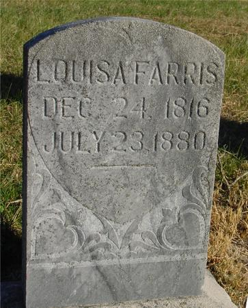 FARRIS, LOUISA - Woodbury County, Iowa | LOUISA FARRIS