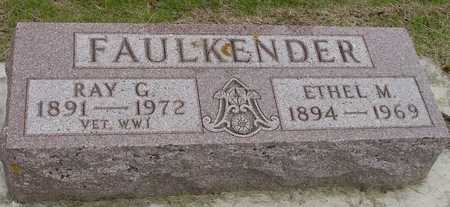 FAULKENDER, RAY & ETHEL - Woodbury County, Iowa | RAY & ETHEL FAULKENDER