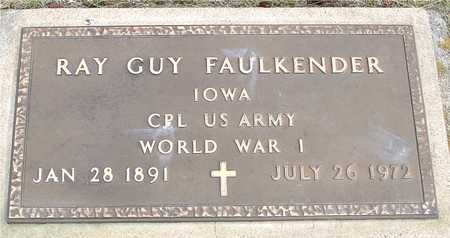 FAULKENDER, RAY GUY - Woodbury County, Iowa | RAY GUY FAULKENDER
