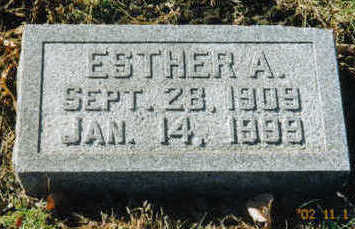FELDTMANN, ESTHER A. - Woodbury County, Iowa | ESTHER A. FELDTMANN