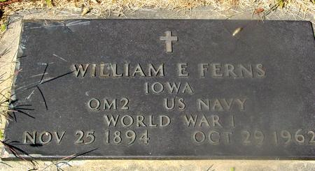 FERNS, WILLIAM E. - Woodbury County, Iowa | WILLIAM E. FERNS