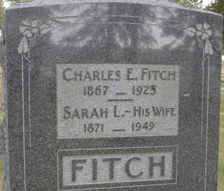 FITCH, CHARLES & SARAH - Woodbury County, Iowa | CHARLES & SARAH FITCH