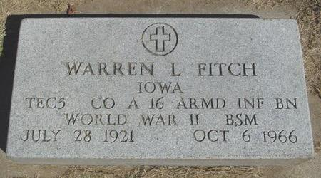 FITCH, WARREN L. - Woodbury County, Iowa | WARREN L. FITCH