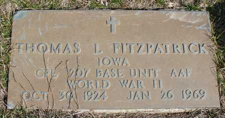 FITZPATRICK, THOMAS L. - Woodbury County, Iowa | THOMAS L. FITZPATRICK