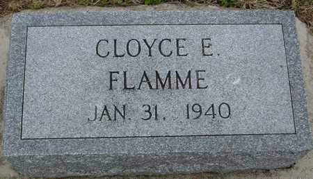 FLAMME, CLOYCE E. - Woodbury County, Iowa | CLOYCE E. FLAMME