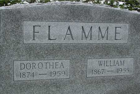 FLAMME, WILLIAM & DOROTHEA - Woodbury County, Iowa | WILLIAM & DOROTHEA FLAMME
