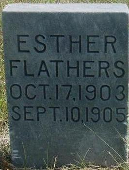 FLATHERS, ESTHER - Woodbury County, Iowa | ESTHER FLATHERS