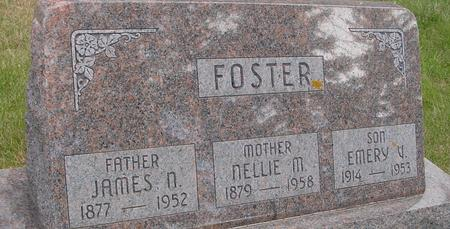 FOSTER, JAMES & NELLIE - Woodbury County, Iowa | JAMES & NELLIE FOSTER