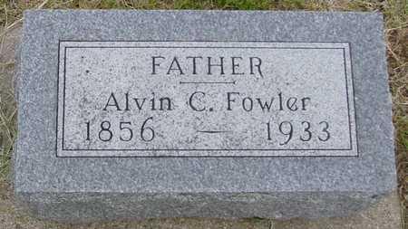 FOWLER, ALVIN C. - Woodbury County, Iowa | ALVIN C. FOWLER
