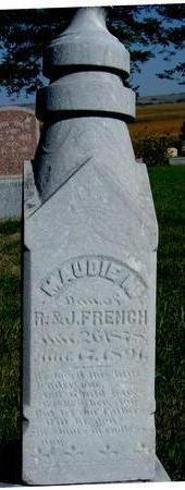FRENCH, MAUDIE M. - Woodbury County, Iowa | MAUDIE M. FRENCH