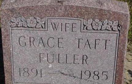 TAFT FULLER, GRACE - Woodbury County, Iowa | GRACE TAFT FULLER