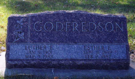 GODFREDSON, ESTHER - Woodbury County, Iowa | ESTHER GODFREDSON