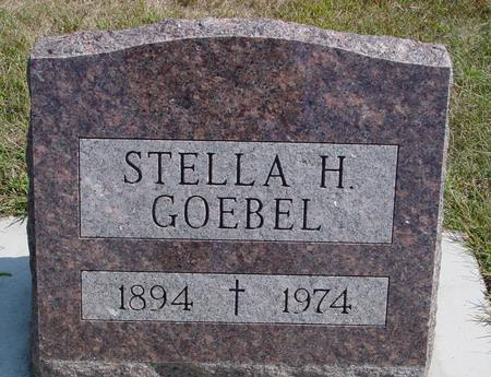 GOEBEL, STELLA H. - Woodbury County, Iowa | STELLA H. GOEBEL