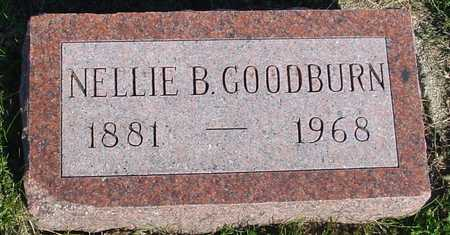 GOODBURN, NELLIE B. - Woodbury County, Iowa | NELLIE B. GOODBURN
