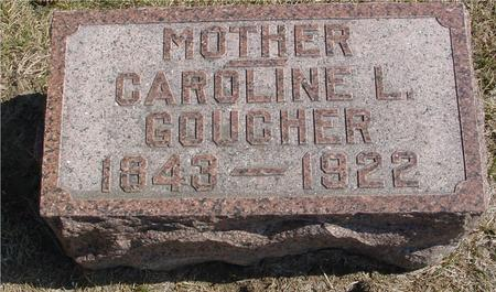 GOUCHER, CAROLINE L. - Woodbury County, Iowa | CAROLINE L. GOUCHER