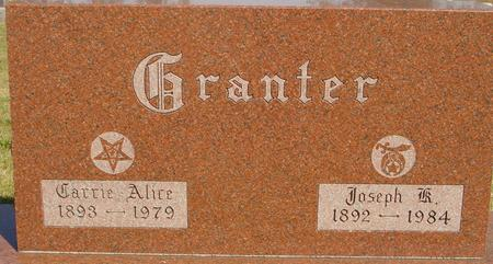 GRANTER, JOSEPH & CARRIE - Woodbury County, Iowa | JOSEPH & CARRIE GRANTER