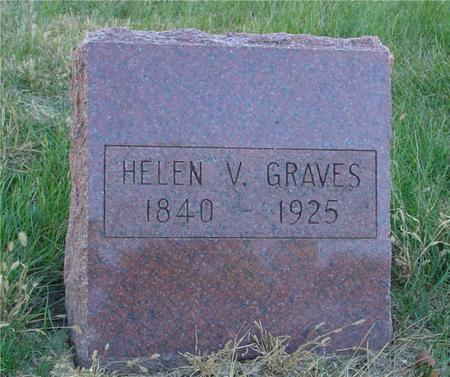 GRAVES, HELEN V. - Woodbury County, Iowa | HELEN V. GRAVES