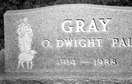 GRAY, O. DWIGHT - Woodbury County, Iowa | O. DWIGHT GRAY