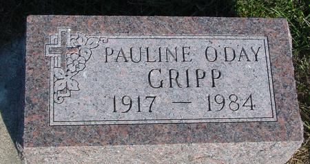 O'DAY GRIPP, PAULINE - Woodbury County, Iowa | PAULINE O'DAY GRIPP