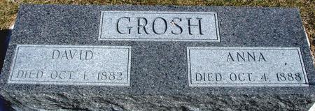 GROSH, DAVID & ANNA - Woodbury County, Iowa | DAVID & ANNA GROSH