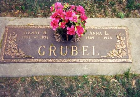 GRUBEL, HENRY H. - Woodbury County, Iowa | HENRY H. GRUBEL