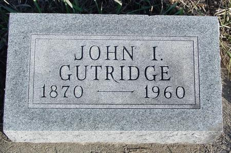 GUTHRIDGE, JOHN I. - Woodbury County, Iowa | JOHN I. GUTHRIDGE