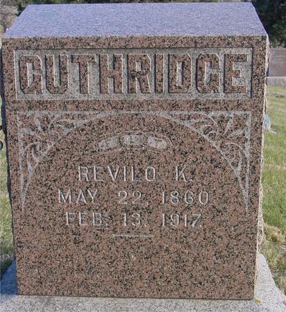 GUTHRIDGE, REVILO K. - Woodbury County, Iowa | REVILO K. GUTHRIDGE
