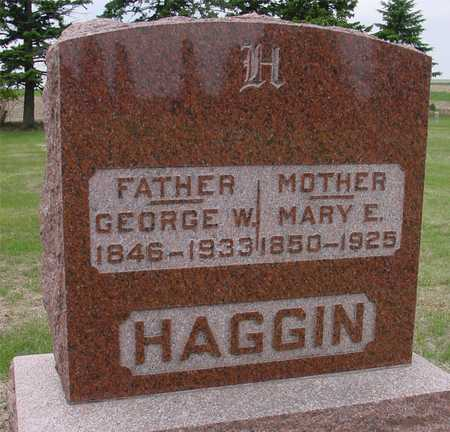 HAGGIN, GEORGE & MARY E. - Woodbury County, Iowa | GEORGE & MARY E. HAGGIN
