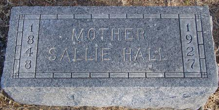 HALL, SALLIE - Woodbury County, Iowa | SALLIE HALL