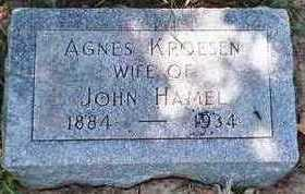 KROESEN HAMEL, AGNES - Woodbury County, Iowa | AGNES KROESEN HAMEL