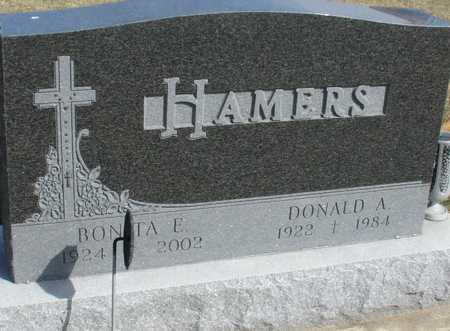 HAMERS, DONALD & BONITA - Woodbury County, Iowa | DONALD & BONITA HAMERS
