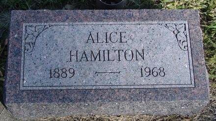 HAMILTON, ALICE - Woodbury County, Iowa | ALICE HAMILTON