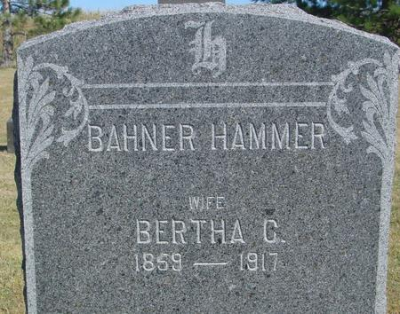 HAMMER, BERTHA - Woodbury County, Iowa | BERTHA HAMMER