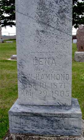 HAMMOND, LENA - Woodbury County, Iowa | LENA HAMMOND