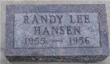 HANSEN, RANDY LEE - Woodbury County, Iowa | RANDY LEE HANSEN