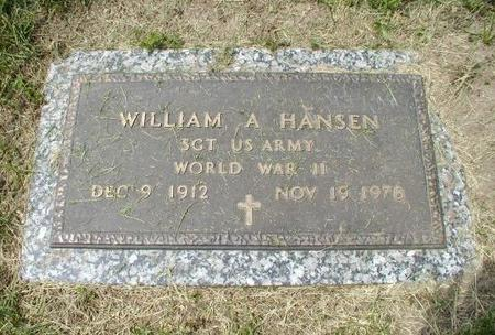 HANSEN, WILLIAM A - Woodbury County, Iowa | WILLIAM A HANSEN