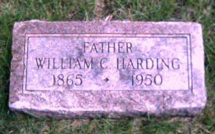 HARDING, WILLIAM C. - Woodbury County, Iowa | WILLIAM C. HARDING
