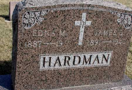 HARDMAN, JAMES D. & EDNA - Woodbury County, Iowa | JAMES D. & EDNA HARDMAN