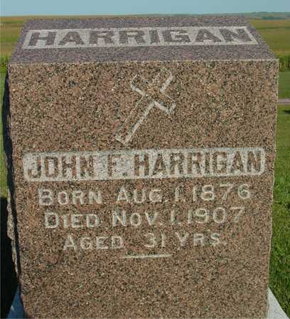 HARRIGAN, JOHN F. - Woodbury County, Iowa | JOHN F. HARRIGAN