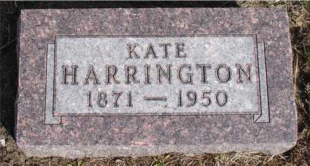 HARRINGTON, KATE - Woodbury County, Iowa | KATE HARRINGTON