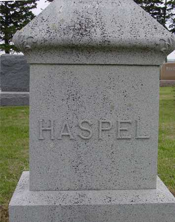 HASPEL, FAMILY MONUMENT - Woodbury County, Iowa | FAMILY MONUMENT HASPEL
