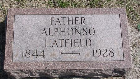HATFIELD, ALPHONSO - Woodbury County, Iowa | ALPHONSO HATFIELD